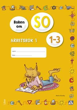 Boken om SO 1-3 Arbetsbok 1 av Annica Hedin