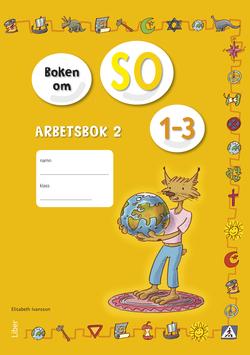 Boken om SO 1-3 Arbetsbok 2 av Annica Hedin