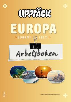 Upptäck Europa Geografi Arbetsbok av Torsten Bengtsson