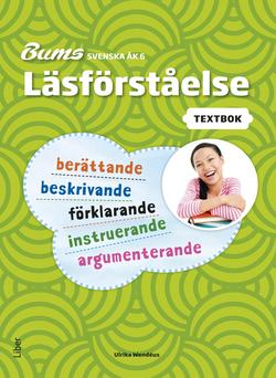 Bums Läsförståelse åk 6 texter av Hippas Eriksson
