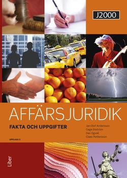 J2000 Affärsjuridik Fakta & uppgifter av Jan-Olof Andersson