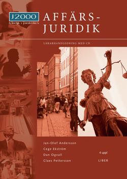 J2000 Affärsjuridik Lärarhandledning med cd av Jan-Olof Andersson