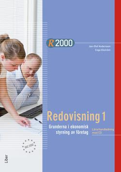 R2000 Redovisning 1 Lärarhandledning med CD av Jan-Olof Andersson