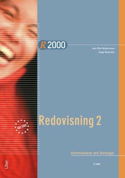 R2000 Redovisning 2 Kommentarer och lösningar av Jan-Olof Andersson