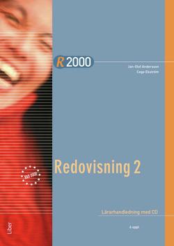 R2000 Redovisning 2 Lärarhandledning med CD av Jan-Olof Andersson