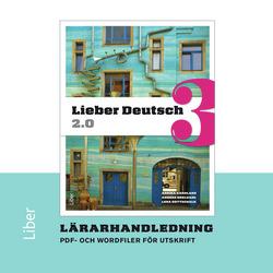 E-bok Lieber Deutsch 3 2.0 Lärarhandledning cd av Annika Karnland