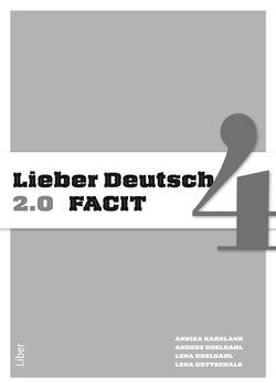 Lieber Deutsch 4 2.0 Facit av Annika Karnland