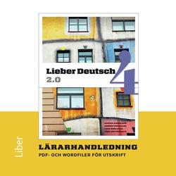 E-bok Lieber Deutsch 4 2.0 Lärarhandledning cd av Annika Karnland