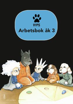 Vips Arbetsbok åk 3 av Lena Hultgren