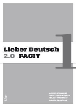 Lieber Deutsch 1 2.0 Facit av Annika Karnland