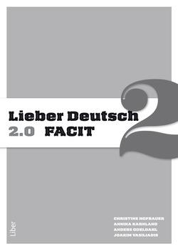 Lieber Deutsch 2 2.0 Facit av Annika Karnland