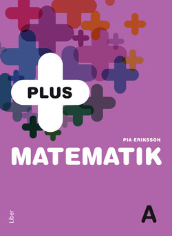 PLUS Matematik A av Pia Eriksson