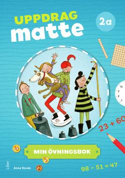 Uppdrag Matte 2A Övningsbok av Anna Kavén