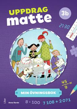 Uppdrag Matte 3B Övningsbok av Anna Kavén