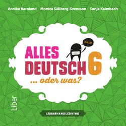 E-bok Alles Deutsch 6 Lärarhandledning cd av Annika Karnland