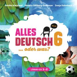 E-bok Alles Deutsch 6 Lärar-cd 1-2 av Annika Karnland