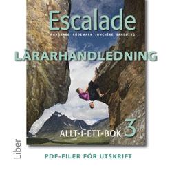 E-bok Escalade 3 Lärarhandledning cd av Viktoria Waagaard