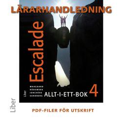 E-bok Escalade 4 Lärarhandledning cd av Viktoria Waagaard